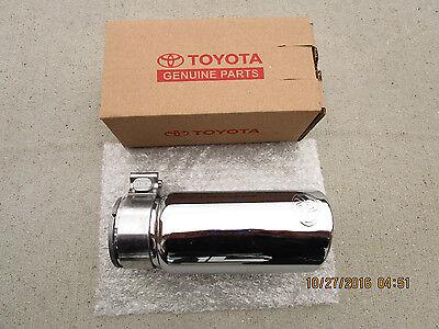 16 19 toyota tacoma sr sr5 limited trd chrome steel exhaust tip new 35162 ebay
