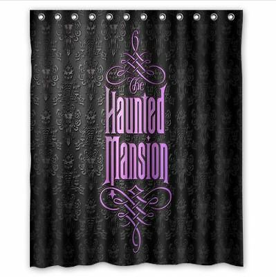 shower curtains disney haunted mansion