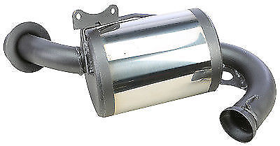 snowmobile parts mbrp trail muffler exhaust for skidoo zx chassis 600 1999 2001 bostwickcourt