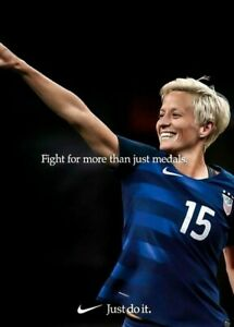 details about megan rapinoe poster 24 x 36 inch poster photo print wall art home 1