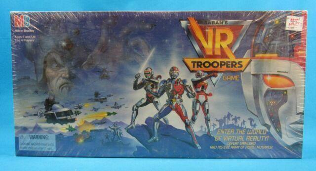 1994 Sabans Milton Bradley Vr Troopers Board Game 4503 Complete