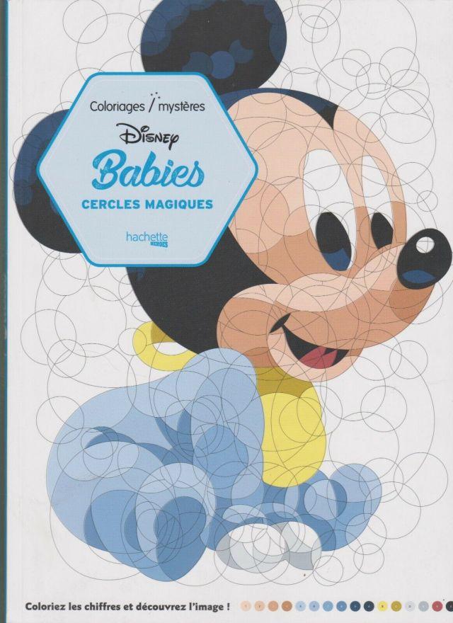 29 - Cercles magiques Art-thérapie Disney Babies