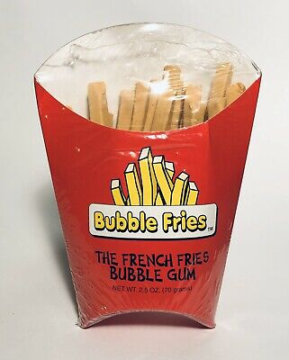 vintage 1995 uniconfis the french fries bubble gum box candy container fast food ebay