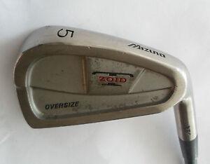 Mizuno T Zoid Xv Oversize 5 Iron Technoflex Gold R Flex