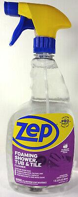 zep pro foaming shower tub and tile cleaner 32 fl oz spray bottle 21709019254 ebay
