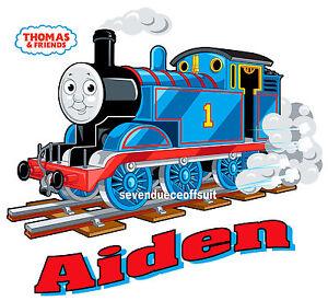 Custom Personalized Thomas The Train T Shirt Party Favor Birthday Present Gift Ebay