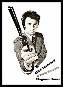 Image Is Loading Magnum Force Fridge Magnet 6x8 Clint Eastwood Dirty