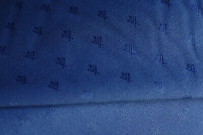 coupon de tissu d ameublement bleu bouchara collection ebay