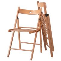 IKEA TERJE Klappstuhl Holz massive Buche Holzstuhl Stuhl ...
