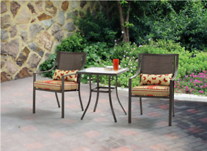patio bistro table and chairs set