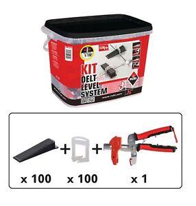 details about rubi delta tile levelling system kit 2mm spacers wall floor tile leveling