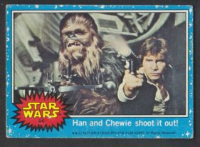 s-l500 Star Wars Cards from 1977: #21 The Tusken Raiders