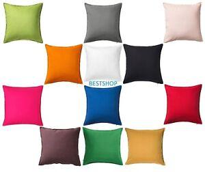 details about ikea gurli 100 cotton 20 x 20 decorative pillow cushion covers variant colors