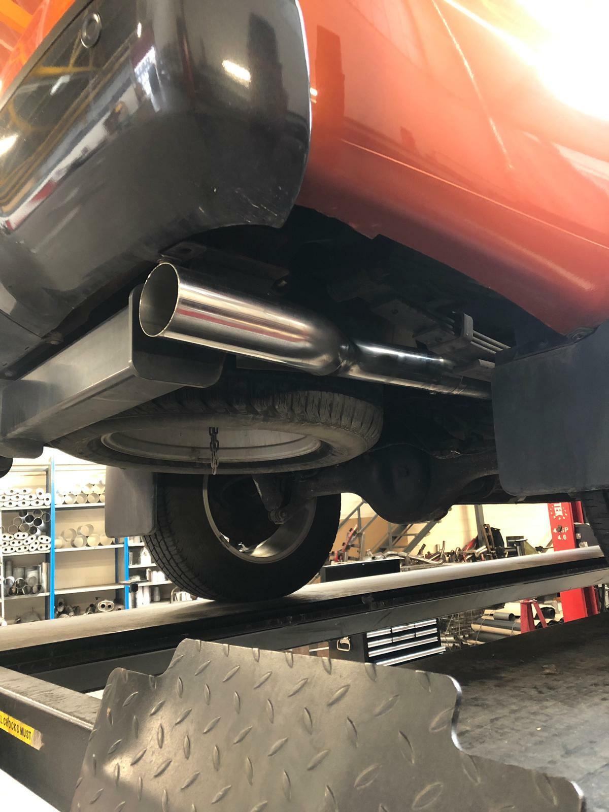 ford ranger wildtrak 3 stainless steel