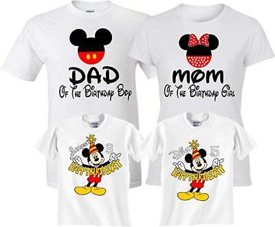 Mickey And Minnie Birthday Shirts Buy Clothes Shoes Online
