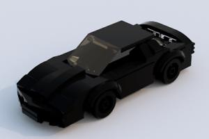 Custom Lego Knight Rider KITT Minifigure Scale