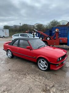 bmw e30 318 baur convertable project .099p start re listed due to no show messer