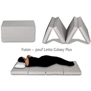 Futon Lit Matelas Gain De Place Pliable En 4 Pieces Et Transformable En Pouf Ebay