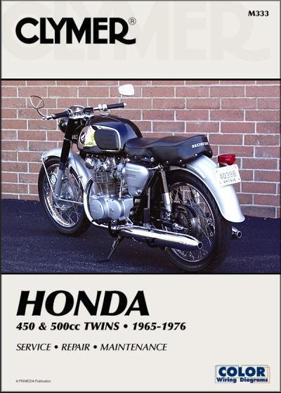1965 1976 Honda Cb450 Cl450 Cb500