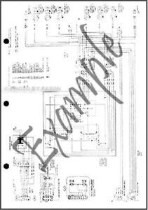 1986 Ford Truck COWL Wiring Diagram F600 F700 F800 F7000 F8000 Electrical 86 | eBay
