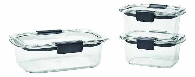 Rubbermaid Brilliance Food Storage Containers, BPA-free Plastic, 7 Sizes 2