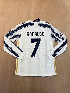 details zu cristiano ronaldo 7 home long sleeve soccer jersey 20 21 all sizes available