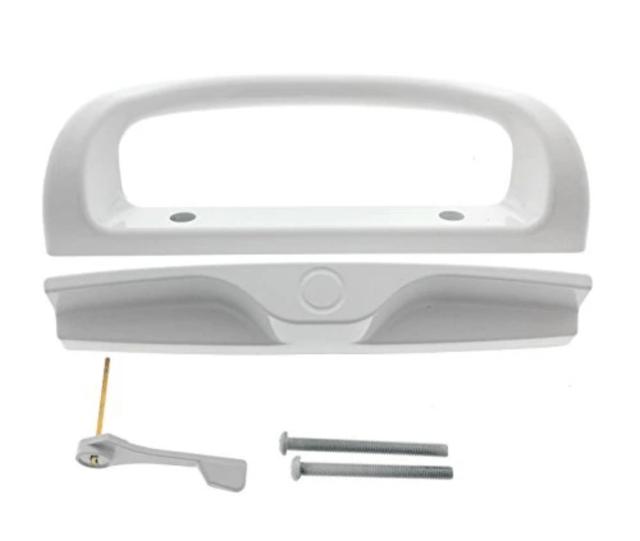 mi doors 910 series sliding patio door handle set hardware white