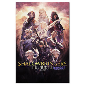 details about final fantasy xiv 14 online shadowbringers poster key art high quality