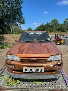 Ford Escort RS2000 Mk5 1992 barn find delivery available spares or repair