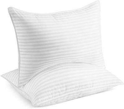 sleepgram pillow premium adjustable loft soft hypoallergenic microfiber with ebay