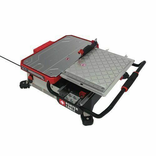 porter cable pce980 7 inch table top wet tile saw for sale online ebay