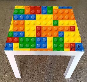 details sur lego brique vinyle autocollant convient pour ikea lack table table de cafe lk5 afficher le titre d origine