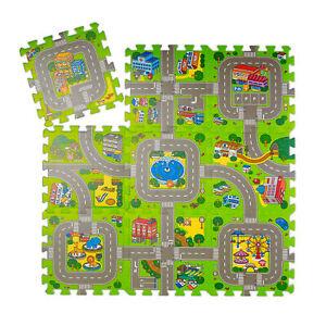 details sur tapis circuit mousse eva tapis circuit voiture pour enfant route tapis de puzzle