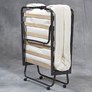 Image Is Loading Folding Bed Memory Foam Mattress Roll Away Guest