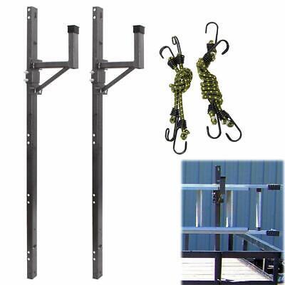 trailer exterior side wall ladder rack fit for enclosed trailer ebay