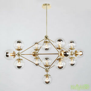 Image Is Loading Modern Gold Modo Led Pendant Lamp Suspension Chandelier