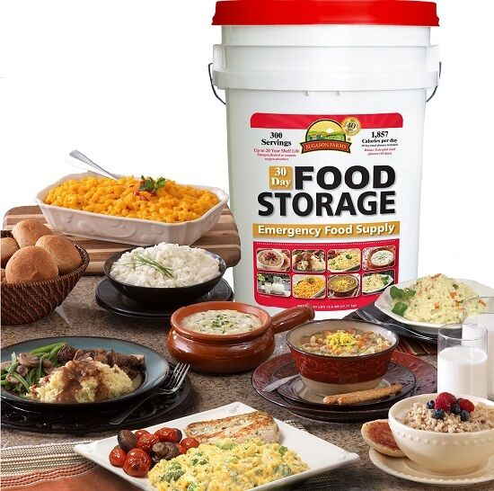 Survival Kit Emergency Food Storage Disaster Hurricane Earthquake 300 Camp Meal 2