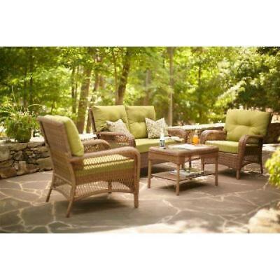 new martha stewart living charlottetown green bean replacement outdoor cushion ebay