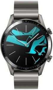 Huawei Watch GT2 2020 (LTN-B19B) Elite Edition Titanium Grey 46mm -5 ATM- NEW