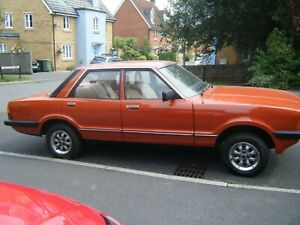 FORD CORTINA 1.6L MK5 1981 LOW MILEAGE. NEVER WELDED