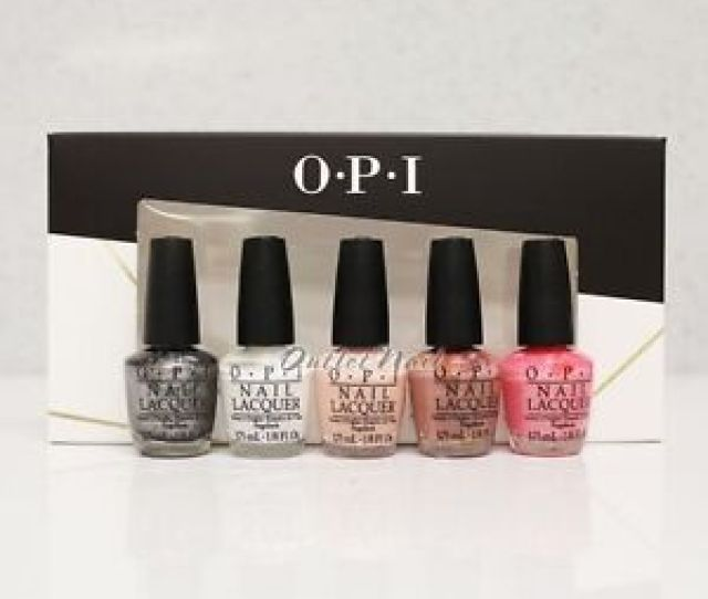 Image Is Loading Opi Mini Nail Lacquer Set  Piece Trend