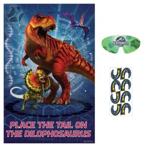 Jurassic World Birthday Party Game 2 8 Players Ebay