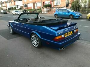 Saab 900 classic convertible with a genuine 900 Carlsson body kit
