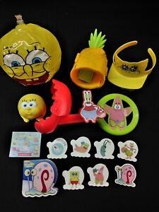 Sonic Drive In Wacky Pack Toys Spongebob Squarepants 7 7 Birthday Party Idea Ebay