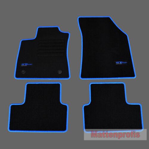 tapis de sol pour l habitacle des automobiles 11 2015 mp velour logo gt tapis de sol pour renault megane 4 iv grandtour bj bl neohost