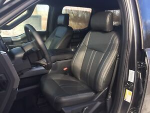 2019 Ford F 150 Xlt Supercrew Katzkin Black Leather Seat