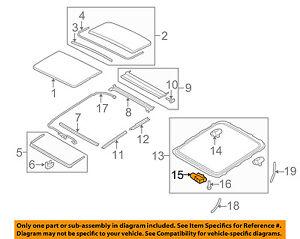 sunroof diagram | Diagram