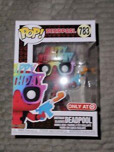 Happy Birthday Glasses Deadpool Funko Pop 783 Target Exclusive In Hand Ebay