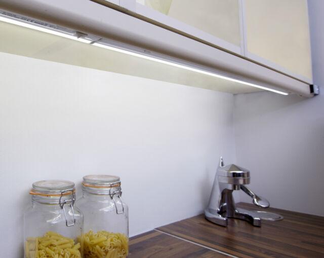 led link light kitchen cabinet strip 222mm under cupboard linkable cool white