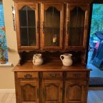 Ethan Allen Solid Cherry Buffet China Hutch Cabinet For Sale Online